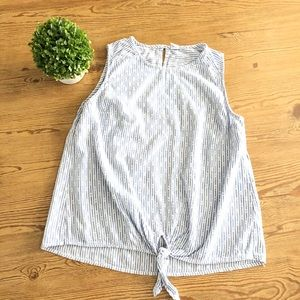 Old Navy Striped Sleeveless Blouse